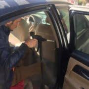 تنظيف سيارات